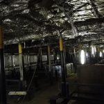 Binnenschip de Rottum voor de renovatie