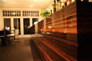 Keuken fineer in 3D hoogglans gespoten