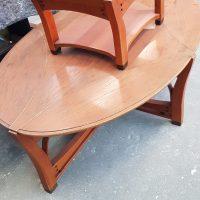 Schuitema meubelen restaureren, laklaag versleten