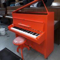 Naam Piano: Willem van Oranje Opdracht: Steenhuis piano, Glimmen