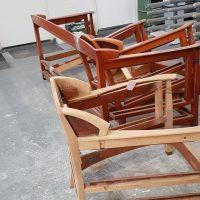 Schuitema Meubelen deel van meubels reeds voorbewerkt